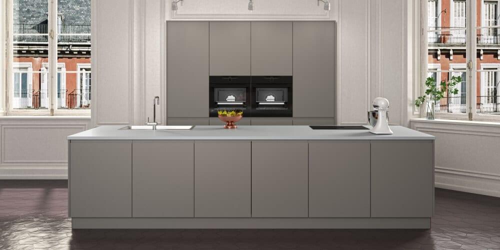 HAKA Küche - Küche grau - Moderne Küche Wien