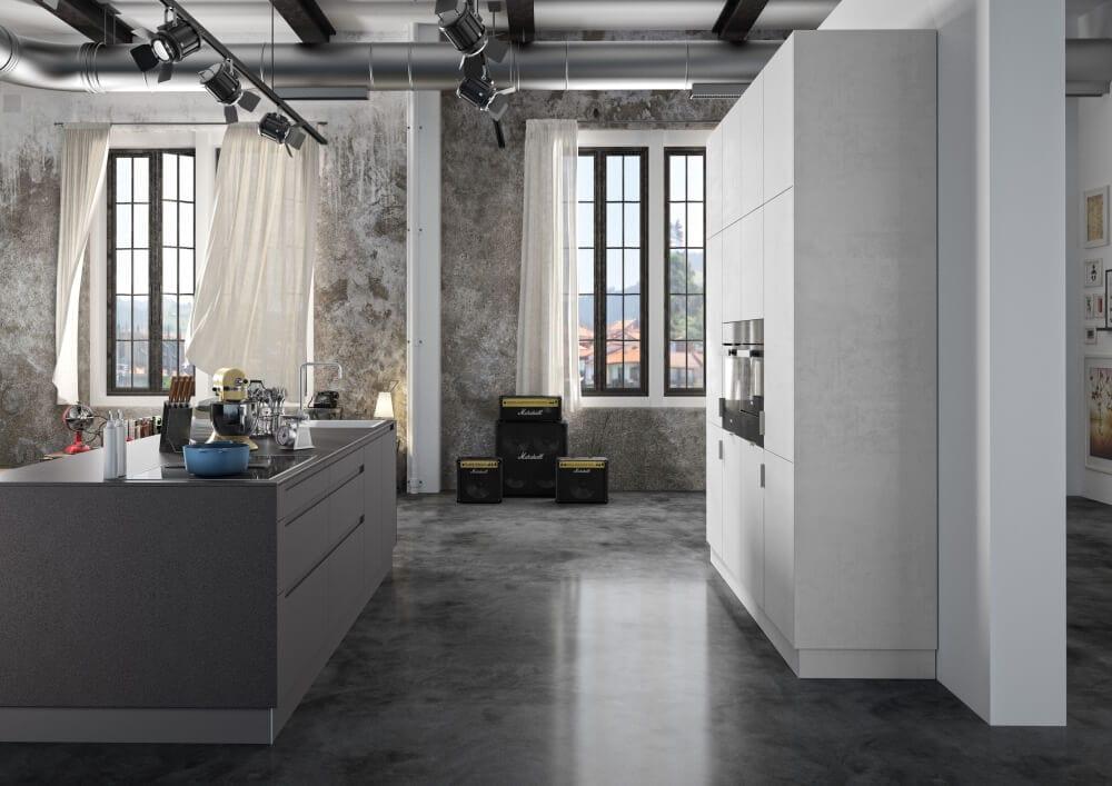 HAKA Küche - Moderne Küche - Kücheninsel