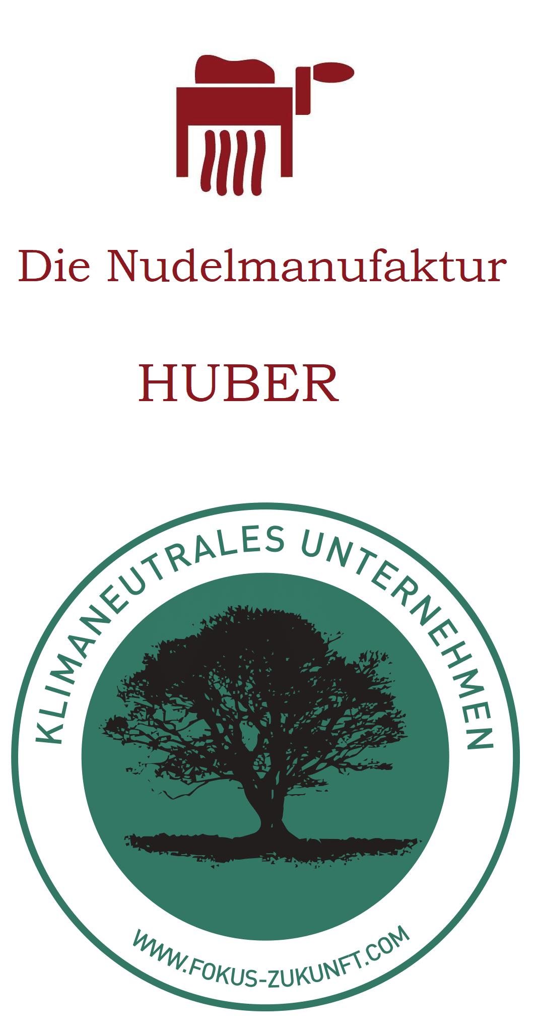 Nudelmanufaktur Huber - klimaneutrales Unternehmen